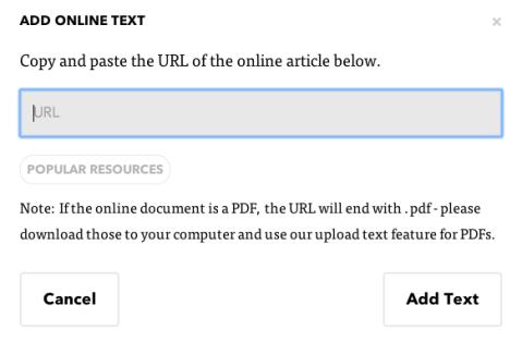 3 add online text
