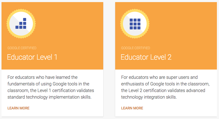 Becoming a Google Certified Educator #GCE Level 1 and Level 2 |